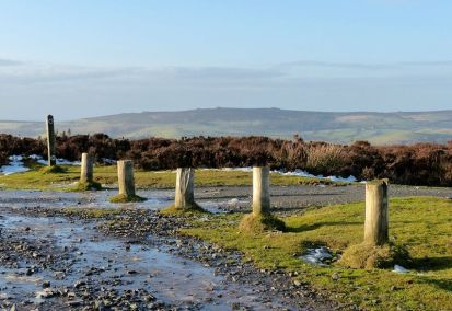 Posts and Stiperstones