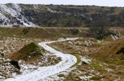 Road to old quarry
