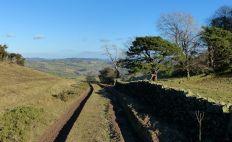 Lane below Jericho Hill