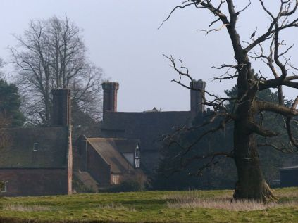 Back of Benthall Hall