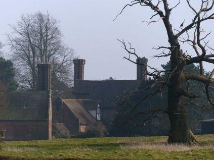 Back of Benthall Hall