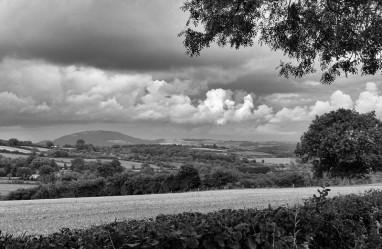 Wrekin rainclouds