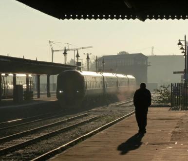 Cold morning at Shrewsbury