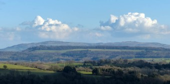 Clouds over the Clee