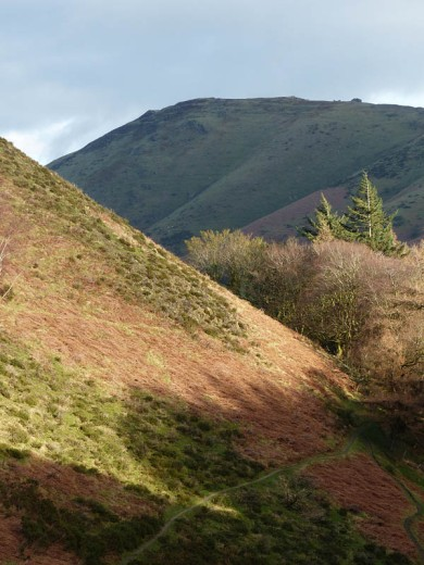 Cwm Dale and Caradoc