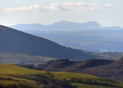 Mid-Wales mountains