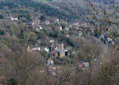Looking down on Ironbridge