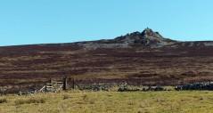 A rocky ridge