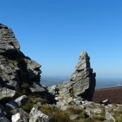 Rocks on the ridge