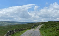 The road to Apedale