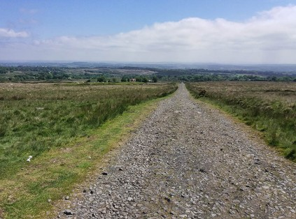 The road to Magpie Hill