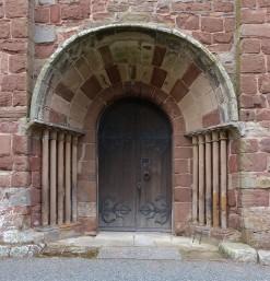 St. Eata's ancient entrance