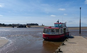 Wyre Rose at Knott End jetty