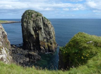 A rocky outcrop - Stac Lachlainn