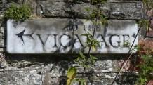 Bucknell - to the Vicarage