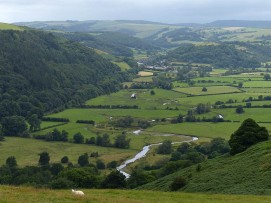 The meandering Teme