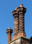 Chimneys by the abbey