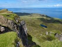 Don't look down - Loch Droighinn