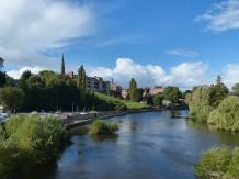 Downstream from the English Bridge