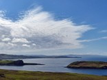 Duntulm Castle cloudscape
