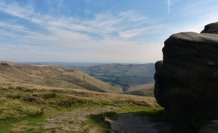 Look back to Edale