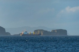 Safely past the islets
