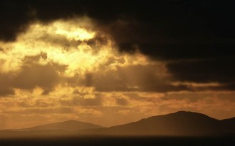 South Harris sundown