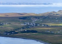 Staffin - an aerial view