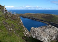 Top of the cliff path