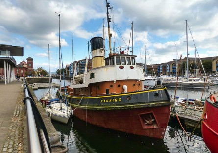 "Steam tug ""Canning"""