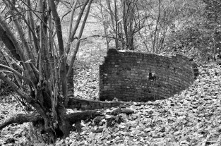 Old mine explosives store