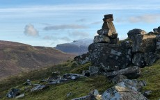 Cairn and Beinn Edra