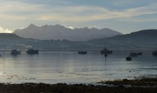 Boats and Cuillins