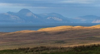 Late light and Harris hills