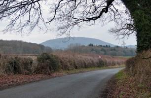 Wrekin from the road