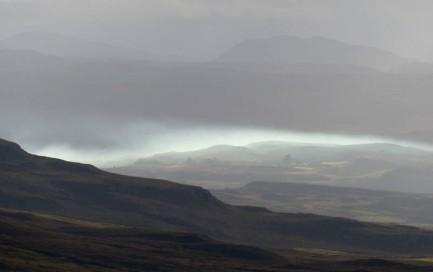 Distant mist