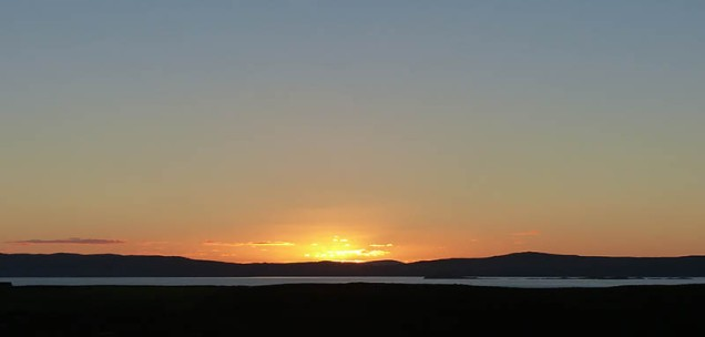 Sunset over Waternish