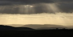 Sunbeams to the south-west