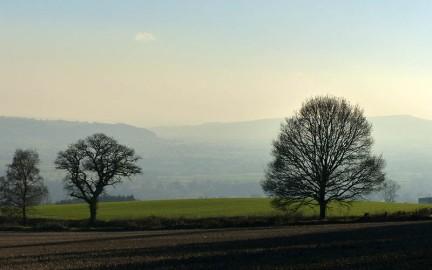 View towards Ludlow