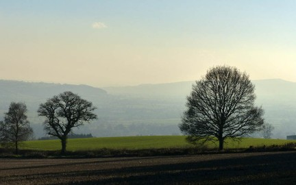 View towards Ludlow