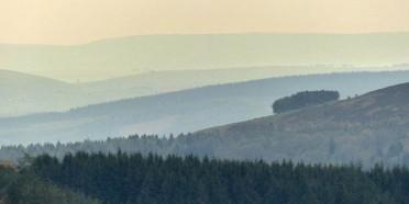 Radnor Forest skyline
