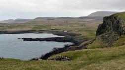 Camas Mor from the cliffs
