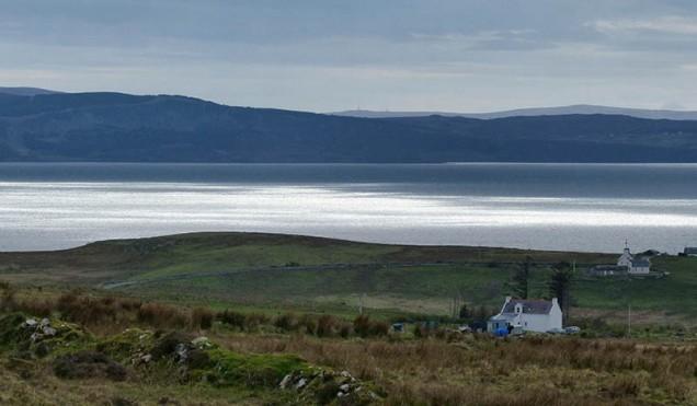 Afternoon light on Loch Snizort