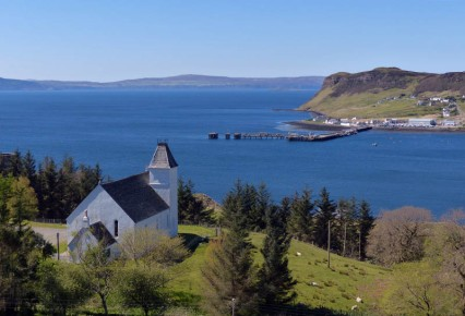 Uig church