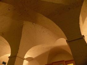 Cellar ceiling