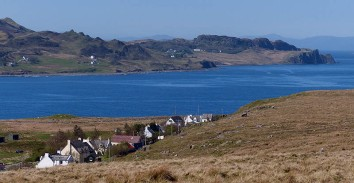 Staffin - wrinkly hills