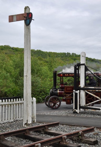 Jackfield level crossing