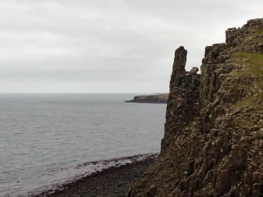 A finger of rock