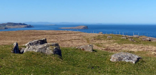 The chambered cairn