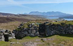 A view to the Cuillins...